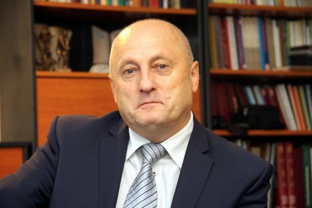 Adam Sosnowski, prezes lubelskiego okręgu Związku Nauczycieli Polskich