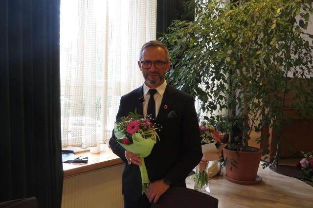 Burmistrz Wąbrzeźna Tomasz Zygnarowski otrzymał wotum zaufania oraz absolutorium z wykonania budżetu Gminy Miasto Wąbrzeźno za 2020 rok
