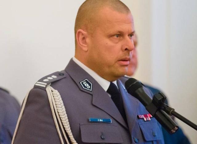 Zbigniew Maj zrezygnował ze stanowiska Komendanta Głównego Policji 11 lutego 2016 roku, po dwóch miesiącach od powołania przez premier Beatę Szydło.