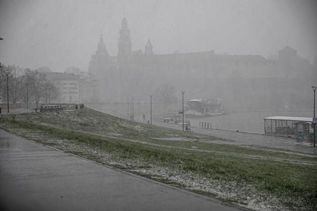 Do Krakowa ma powrócić zima