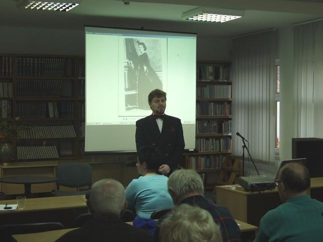 Dariusz Srzednicki oczarował swoich słuchaczy.