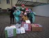 Elfy odwiedziły Szpital Miejski 4 w Gliwicach i zostawiły prezenty dla najmłodszych podopiecznych