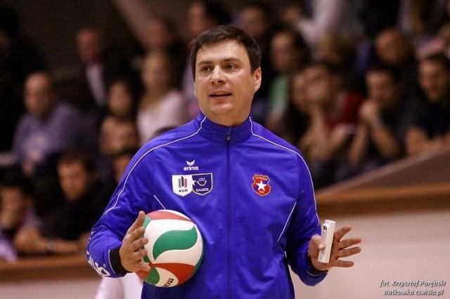 Marcin Wojtowicz - nowy trener Developresu Rzeszów.
