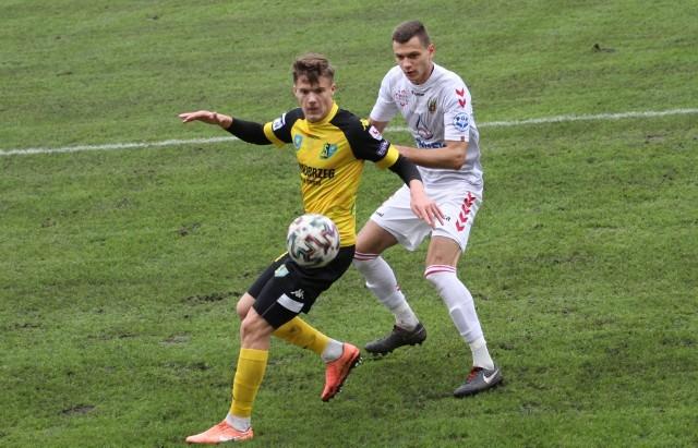 W poprzednim meczu z Hetmanem jednego gola dla Siarki strzelił Dawid Bałdyga