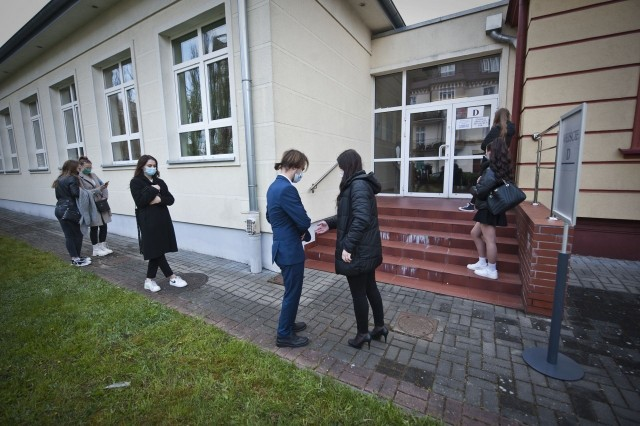 Matura 2021 z matematyki w II Liceum Ogólnokształcącym w Koszalinie