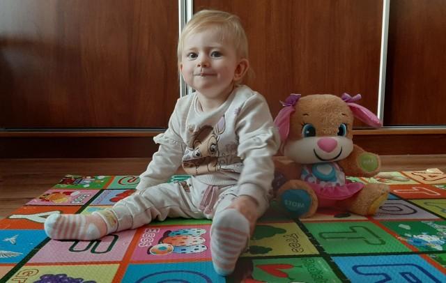 14-miesięczna Olga z Kiszkowa potrzebuje pomocy nas wszystkich