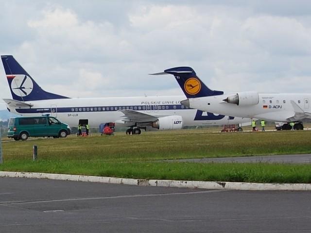 Rekordowy lipiec lotniska Rzeszów-Jasionka