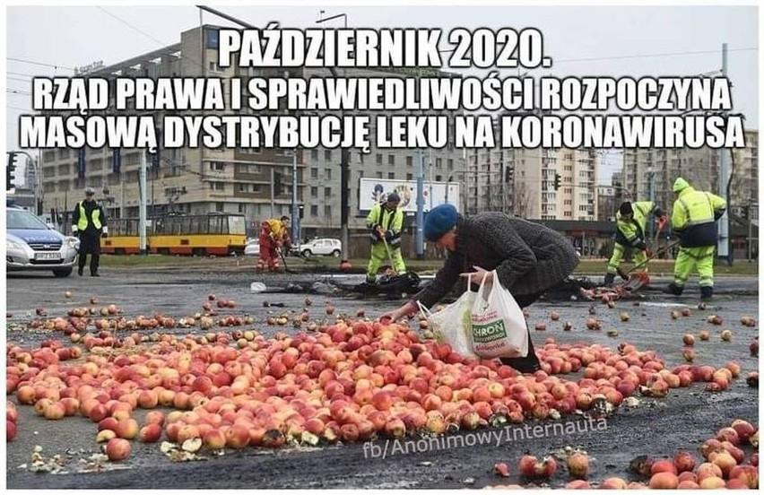 Nowe MEMY o koronawirusie. Druga fala COVID-19 w Polsce oczami internautów. Czy wirus jest w odwrocie? Jedno jabłko z wieczora Cię ochroni?
