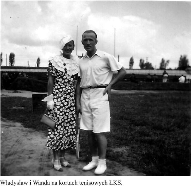Władysław Król i jego urocza małżonka Wanda