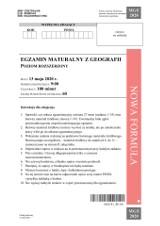 Matura GEOGRAFIA 2020: arkusz CKE, odpowiedzi. Co było na maturze z geografii? 21.06.20