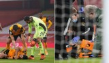 Potworne zderzenie piłkarzy w Anglii. Powtórki są zbyt drastyczne!