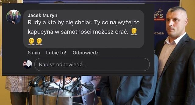 Radny powiatowy z Koszalina Jacek Muryn znowu jest na językach samorządowców z całego regionu. Ba, z całej Polski.