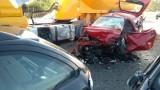 Wypadek w gminie Białobrzegi. Zderzenie czterech aut na trasie S7, dwie osoby w szpitalu. Droga w kierunku Warszawy była zablokowana!
