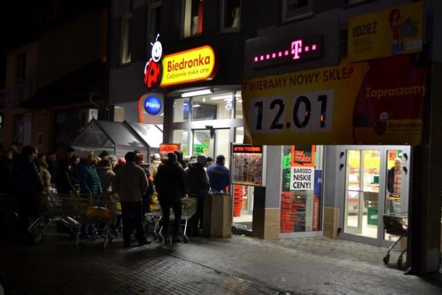 Biedronka w Sierakowicach