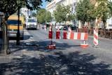 Białystok. Remont ulicy Lipowej. Ruch tylko w jedną stronę. Tak będzie przez miesiąc od 17.08 do 18.09