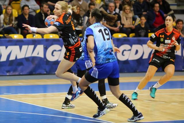 Czy Kaja Załęczna w swoim ostatnim meczu ligowym poprowadzi Metraco Zagłębie Lubin do zwycięstwa i złotego medalu?
