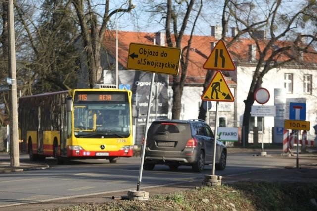 swojczyce remont mostu ulica swojczycka