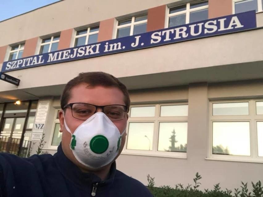 Ks. Marcin Stanisławski z parafii w Tulcach poinformował, że opuścił już szpital zakaźny w Poznaniu.