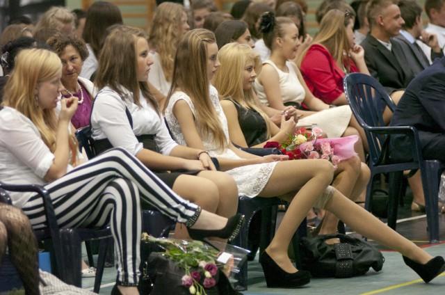 Zakończenie roku w gimnazjum w KobylnicyZakończenie roku w gimnazjum w Kobylnicy
