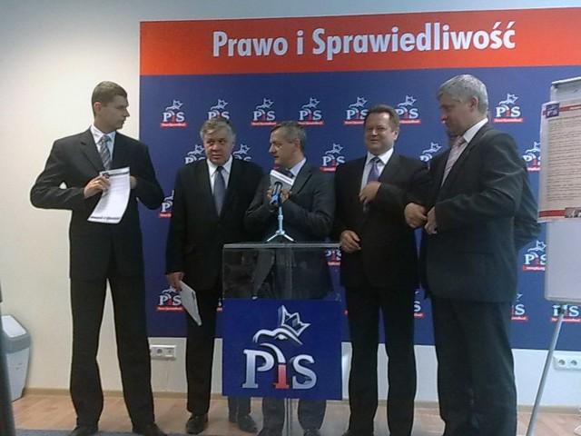 Politycy PiS pytają o kwestie kluczowe dla regionu