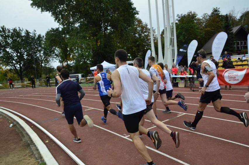 Na poznańskim Golęcinie biegano już wiele razy na bieżni,...