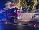 Pożar w Istebnej w Nowy Rok: sprawą zajmie się sanepid, bo w budynku przebywało 19 osób