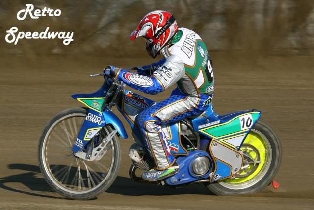 Antonio Lindbaeck zakończył karierę. w 2007 roku ścigał się dla Włókniarza