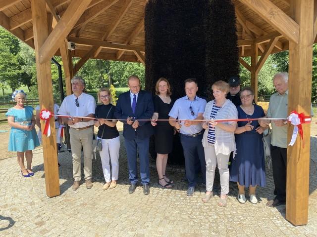 Tężnia solankowa w Zochcinku została uroczyście otwarta we wtorek, 22 czerwca.