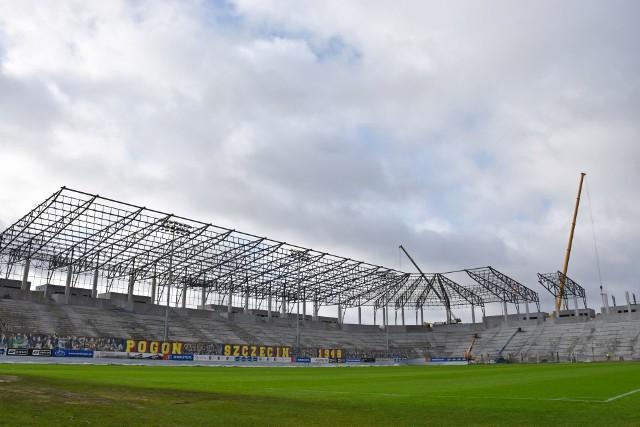 Budowa stadionu w Szczecinie