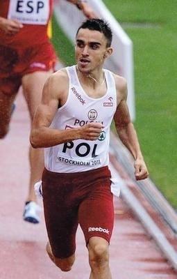Adam Kszczot wygrał na 800 m Fot. PAP/EPA/Claudio Bresciani