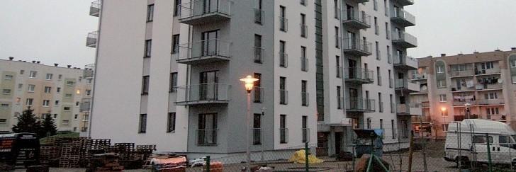 Nowy budynek przy ul. Kulczyńskiego w Słupsku.
