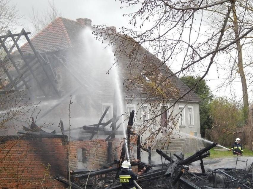 Pożar w Starkowie