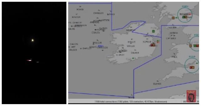 9 listopada 2018 - zgłoszono pojawienie się UFO nad Irlandią. Czym był niezidentyfikowany obiekt latający i gdzie został zaobserwowany?