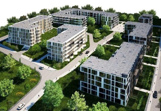 Osiedle Nowy BaranówekTak będzie wyglądać Osiedle Nowy Baranówek.