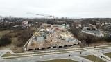 Osiedle Wietrznia – luksusowe mieszkania w Kielcach. Co się dzieje na budowie? Zobaczcie zdjęcia z drona