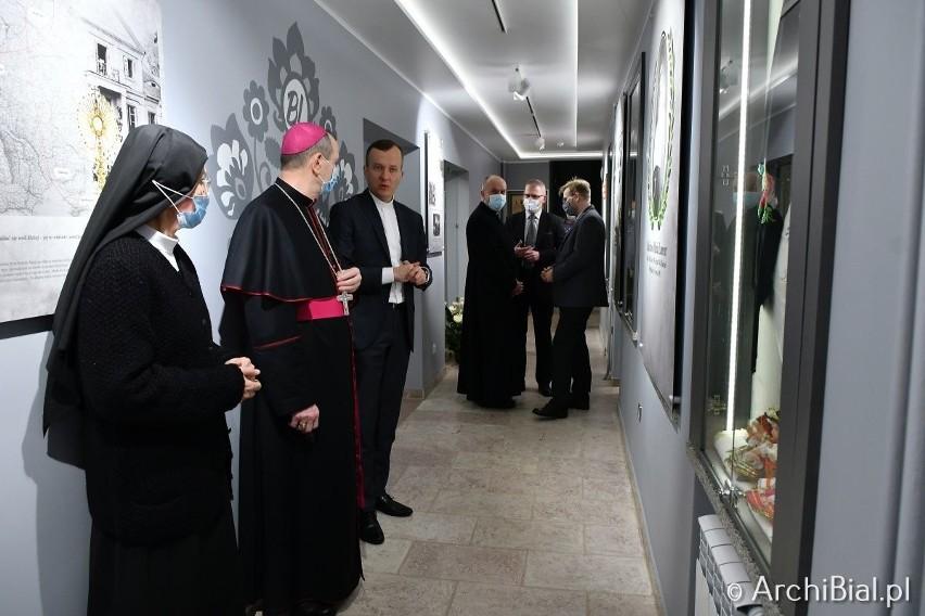 W muzeum można prześledzić ścieżkę życia bł. Bolesławy - od...