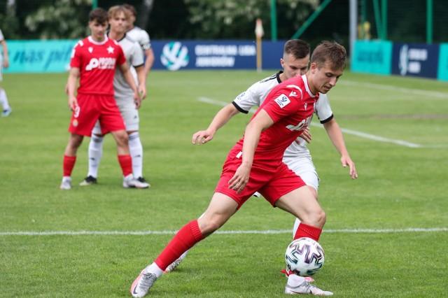 Mecz Centralnej Ligi Juniorów U-18 w Myślenicach Wisła Kraków -  Legia Warszawa
