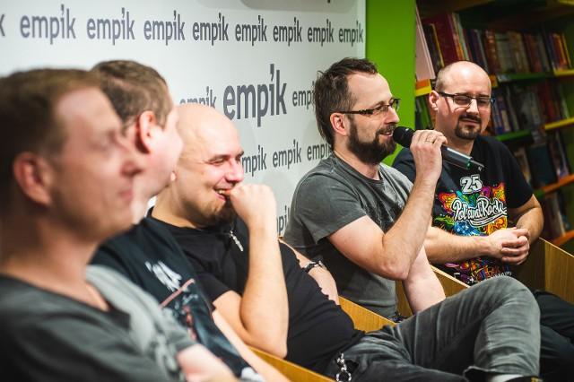 Spotkanie zespołu Łydka Grubasa z fanami w Gdańsku