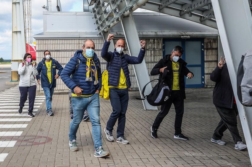 Żółto-czerwona fala w Gdańsku. Kibice Villarrealu CF i...