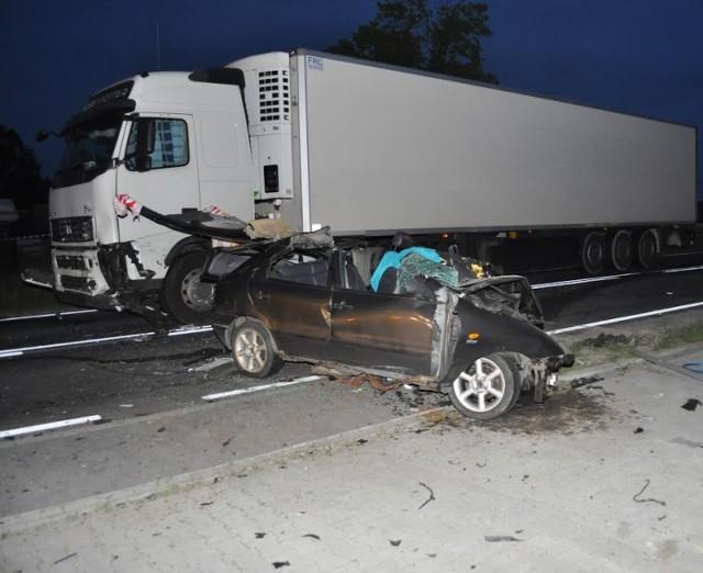 Krzywosądów: Śmiertelne zderzenie z ciężarówką