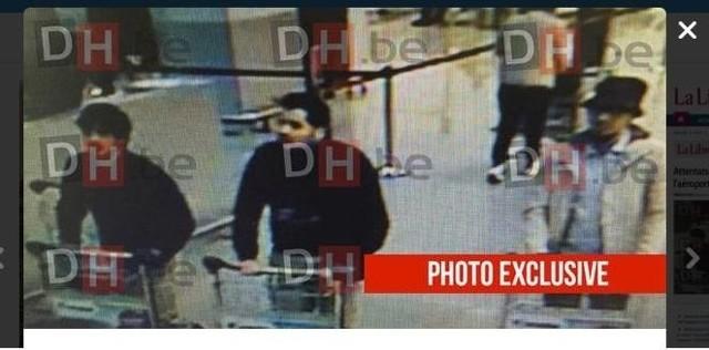Zdjęcie podejrzanych. Prawdopodobnie to ci mężczyźni dokonali zamachu.