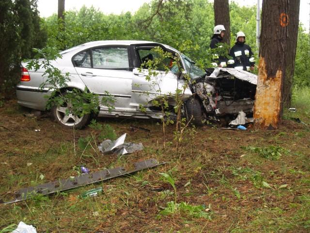 Wypadek w Łęgu Przedmiejskim, 20.06.2020