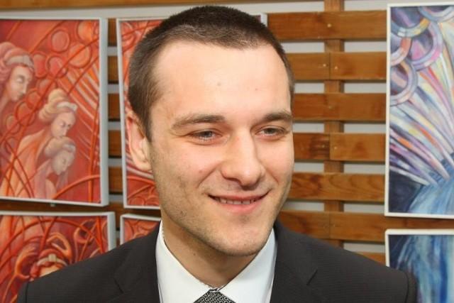Łukasz Radwański, nowy dyrektor szpitala ginekologiczno-położniczego w Opolu.