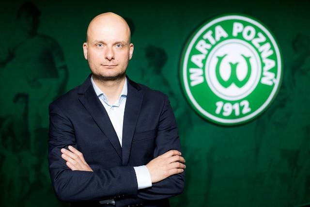 Dariusz Wolny z funkcji wiceprezesa Warty Poznań został powołany przez Radę Nadzorczą klubu na stanowisko prezesa Zielonych