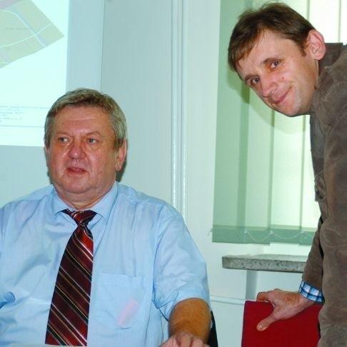 Marek Olesiewicz ceni wiedzę Józefa Maroszka.