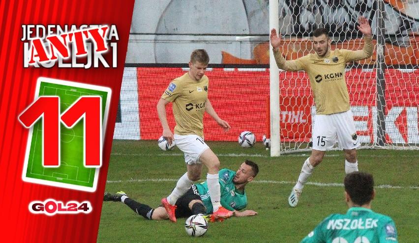 W 22. kolejce PKO Ekstraklasy zdarzyło nam się obejrzeć dwa...