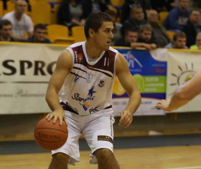 Jerzy Koszuta rzucił 13 punktów i miał 6 zbiórek