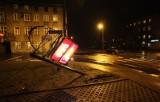 Wypadek na Franciszkańskiej [zdjęcia] Jedna osoba ranna