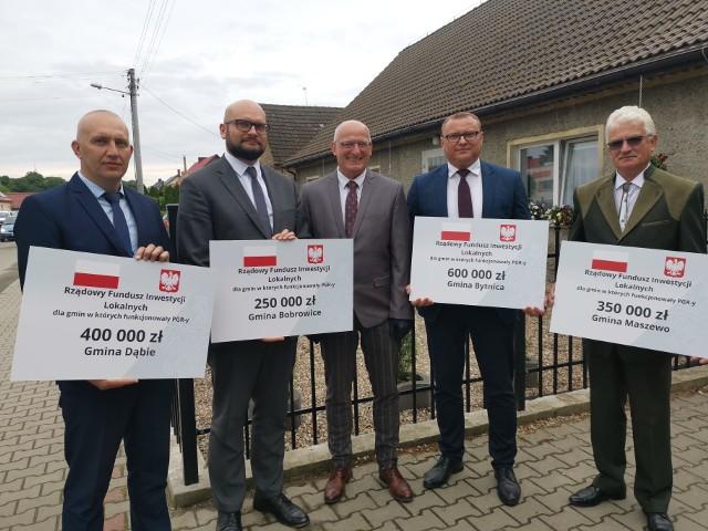 Gmina Dąbie, Bobrowice, Maszewo i Bytnica, pozyskały dofinansowanie z Rządowego Funduszu Inicjatyw Lokalnych. Nasze gminy pozyskały w sumie ponad 1,5 mln złotych!