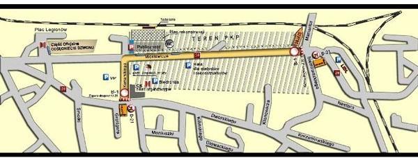 Zobacz na mapie, jakie ulicę będzie zamknięte w przyszłą niedzielę w Przemyślu.